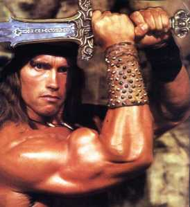 Conan the Barbarian Returns with Arnold Schwarzenegger-Nader-Nazemi-Iran